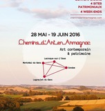CHEMINS D'ART EN ARMAGNAC À L'ÉGLISE DE LUZANET A MONTRÉAL DU GERS
