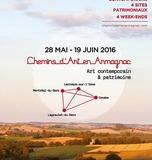 CHEMINS D'ART EN ARMAGNAC AU CASTEL PIERRE À LAGRAULET DU GERS