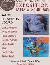 SALON DES ARTISTES LOCAUX A L'ESPACE SAINT-MICHEL