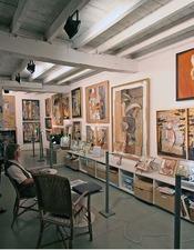 Exposition à l'atelier d'artistes