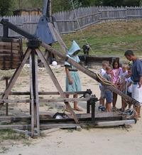 CAMP DE SIÈGE MÉDIÉVAL - Larressingle