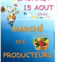 MARCHÉ DE PRODUCTEURS - Lauraët