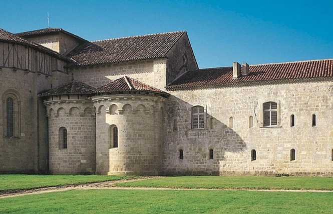 ABBAYE CISTERCIENNE DE FLARAN (XII - XVIIIème) 1 - Valence-sur-Baïse