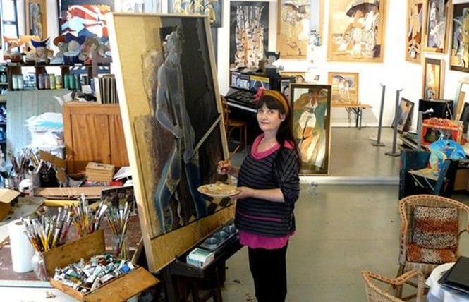 ATELIER D'ARTISTES PEINTRES 4 - Montréal