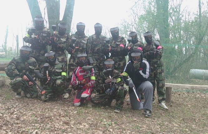 PAINTBALL L'EMPIRE DU JEU 1 - Condom