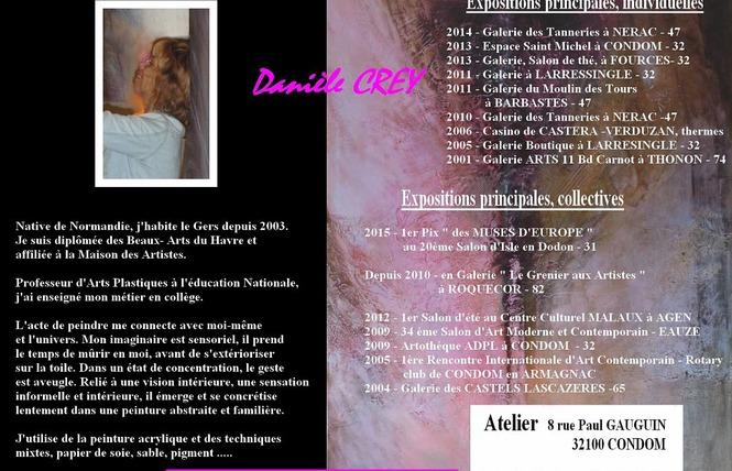 ATELIER D'ARTISTE DANIÈLE CREY 6 - Condom