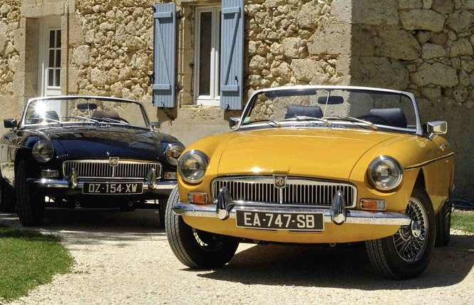 CLASSIC CARS IN GERS 10 - Saint-Puy