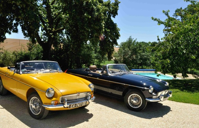 CLASSIC CARS IN GERS (CHAMBRE MG) - SAINT-PUY 17 - Saint-Puy